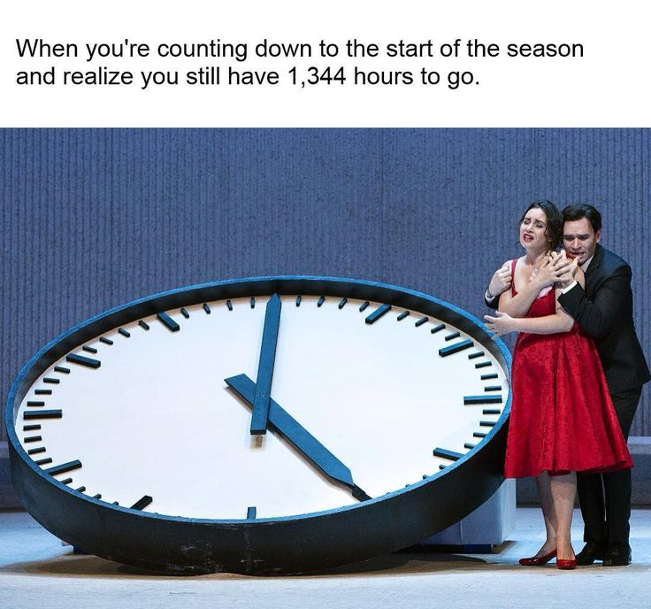 #OperaMemeMonday The only valid reason for wishing summer to end. The 2017-18 season opens September 25 with a new production of Bellini's Norma starring @sondraradvan, followed by revivals of Les Contes d'Hoffmann, Die Zauberflöte, and La Bohème. Tickets start at $25. 💃Don't miss the FREE outdoor screening of La Traviata starring @sonyayoncheva and @tenorfabiano on Monday, September 4.  ___________________________ #MetOpera #Norma #Hoffmann #Zauberflote #Boheme #Traviata #OperaWithdrawal…