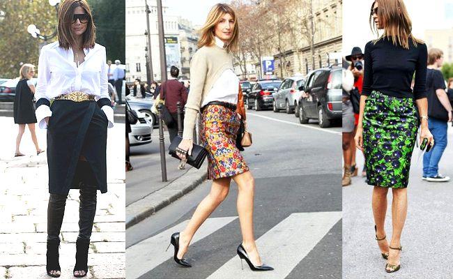 Spódnice ołówkowe, trendy