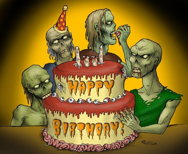 zombie birthday wishes | Zombie Reaper's Page - Lost Zombies