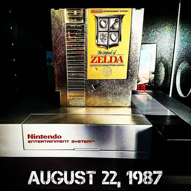 Reposting @anxgamecast: #OnThisDay in 1987, #Nintendo released #TheLegendOfZelda for the #NintendoEntertainmentSystem. Oh...and it's #TriForceTuesday!________________________________ #NES #Zelda #Link #TriForce #RetroGameRoom #RetroGaming #RetroCollective #RetroGamer #Gamer #InstaGamer #UltimateGamer #VideoGames #GameCollection #GameCollector #Gaming #ANXGC