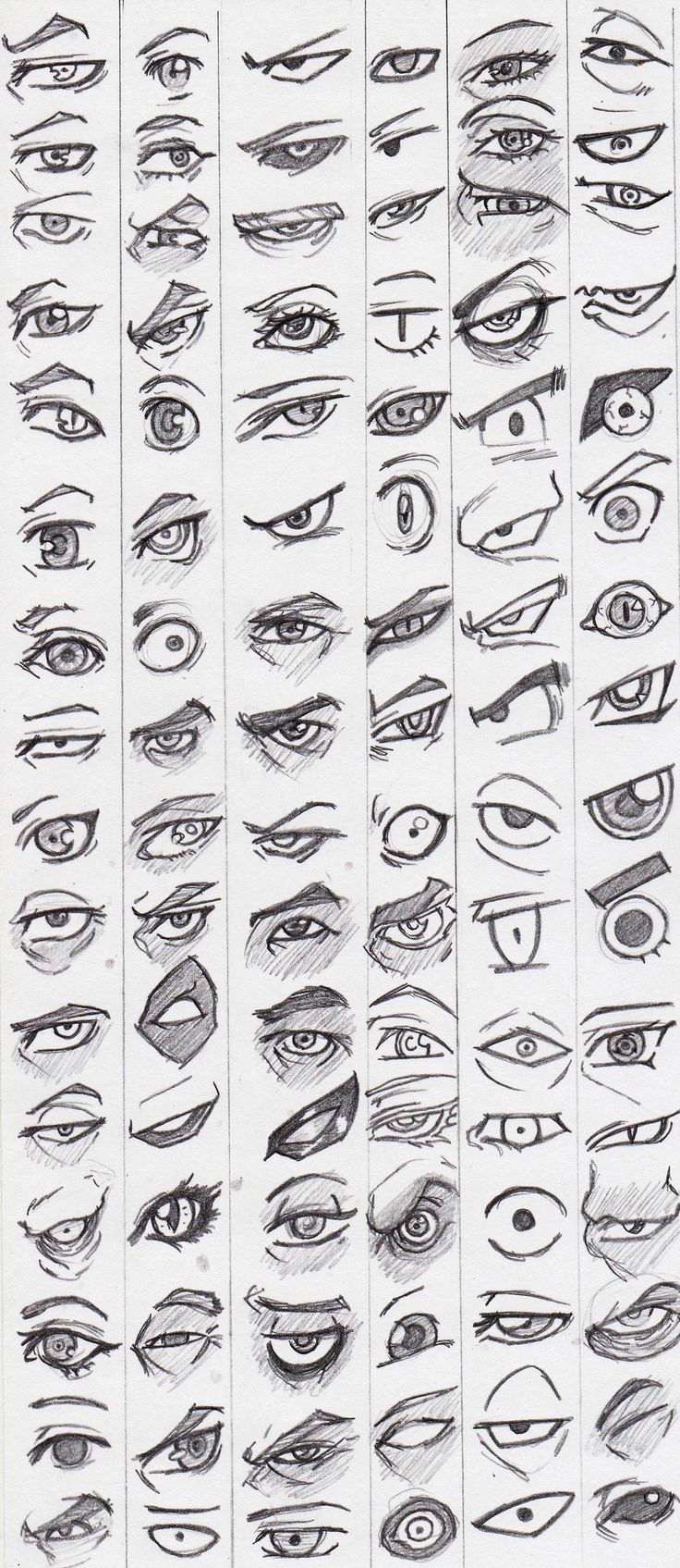 Eye reference stylized by KingAngel-Z