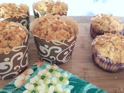Muffins à l'avoine et à l'érable