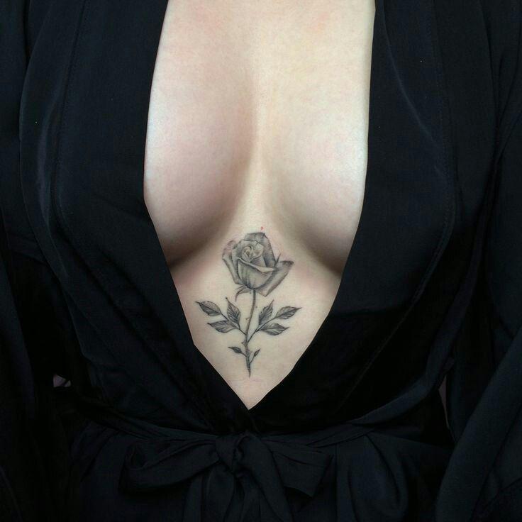 * Cleavage Tattoo *