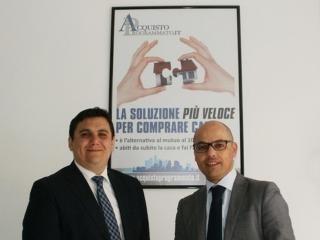 I due Soci Pietro Scano e Daniele Lecis ideatori della formula dell'Acquisto Programmato www.welchomeimmobiliare.com