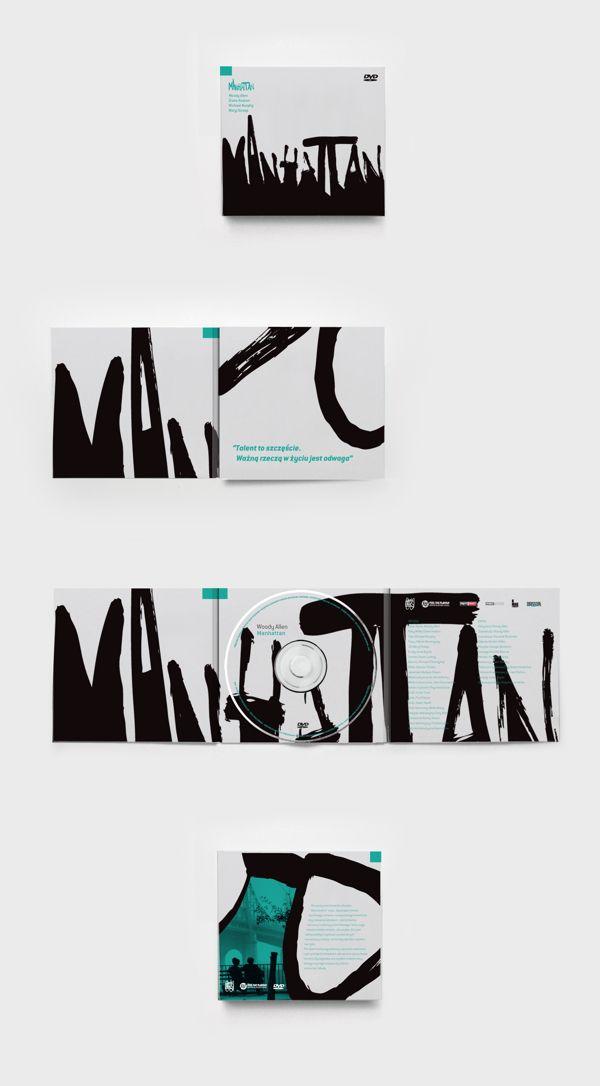Woody Allen DVD Covers by Kamil Borowski, via Behance