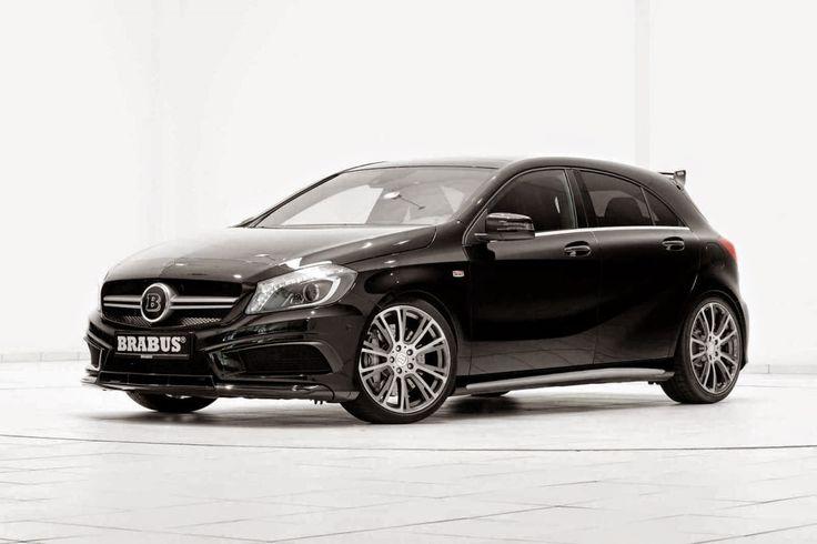 BENZTUNING: BRABUS B45 based on Mercedes-Benz W176 A45 AMG