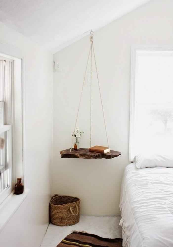 Les 25 meilleures id es de la cat gorie table de chevet - Relooker sa chambre a coucher ...