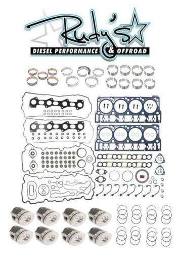 2008-2010-Ford-6-4L-Powerstroke-Diesel-Complete-Rebuild-Overhaul-Kit-w-Pistons