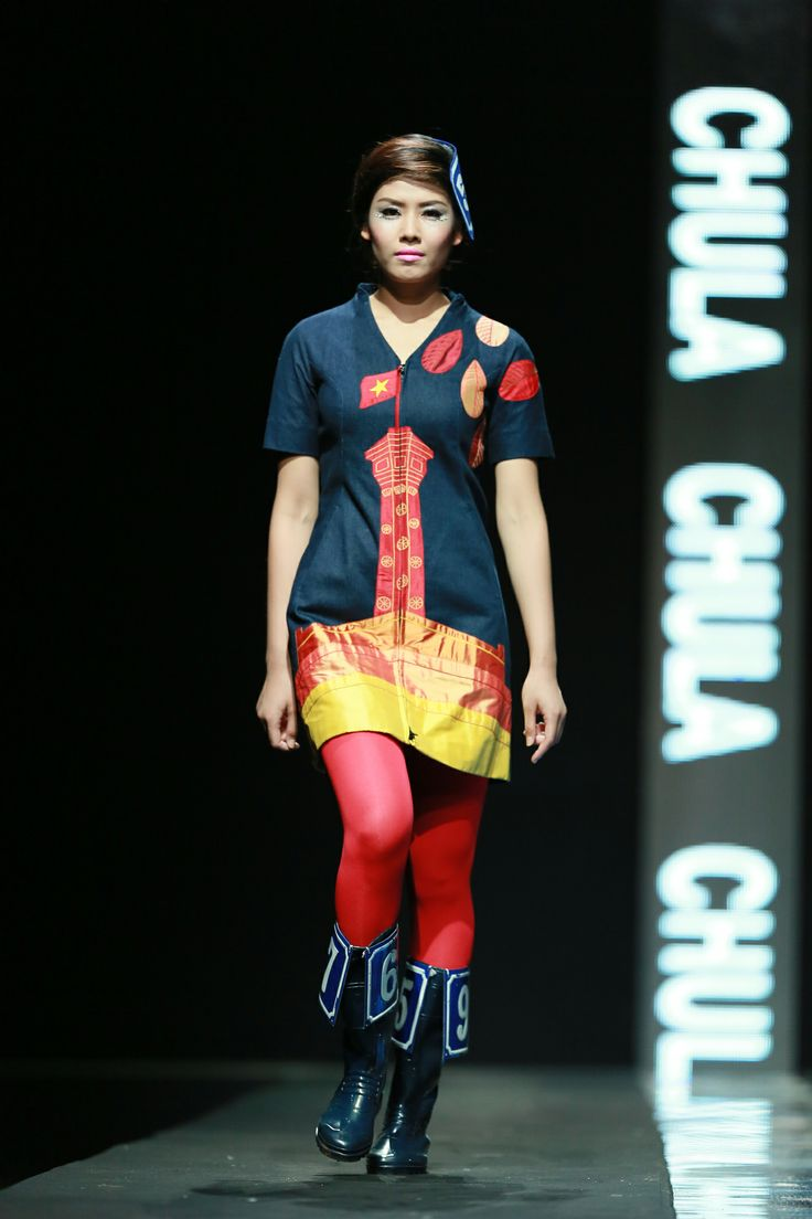 Vietnam Fashion Week FW14 - Ready to wear.  Designer: Chula.  Photo: Thanh Dat