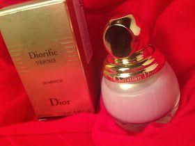 KATRIN DEL MAR: Лак для ногтей Diorific в оттенке 022 Mirror из рождественской коллекции Dior.