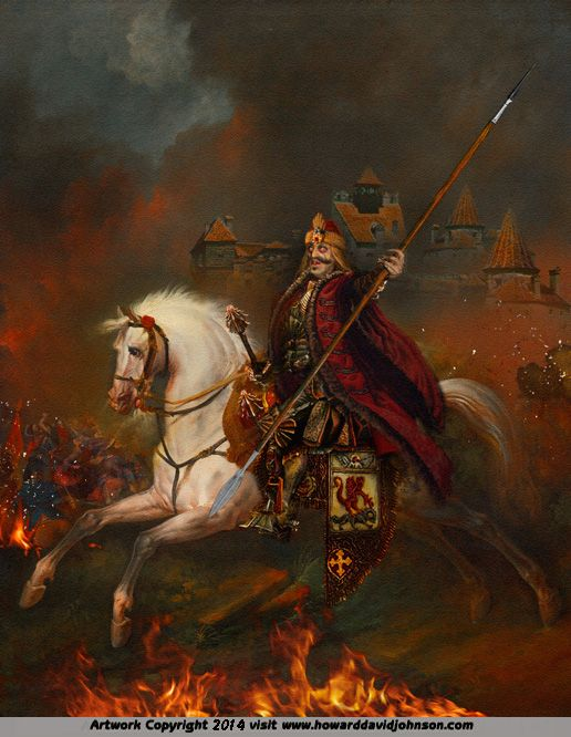 The Legends of History : Historical Illustrations featuring themes of War & Civilization & an Outline of History by Howard David Johnson