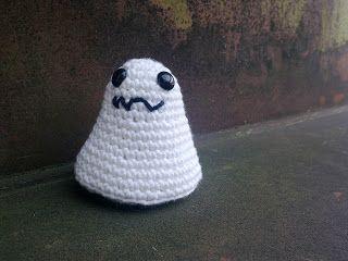 Virka! Spöke, leksak SVENSKA Karins bloggiblogg: Virkat Spöke