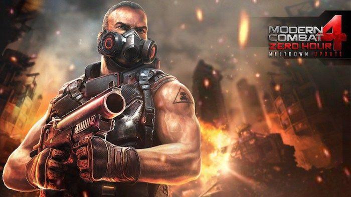 Modern Combat 4 es el juego gratuito de este mes en IGN