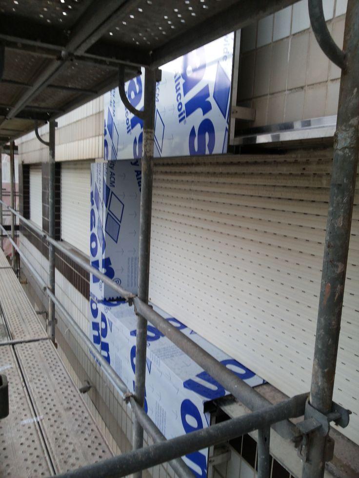 TRASVENTILADA DE COMPOSITE DE ALUMINIO DE 4 MM