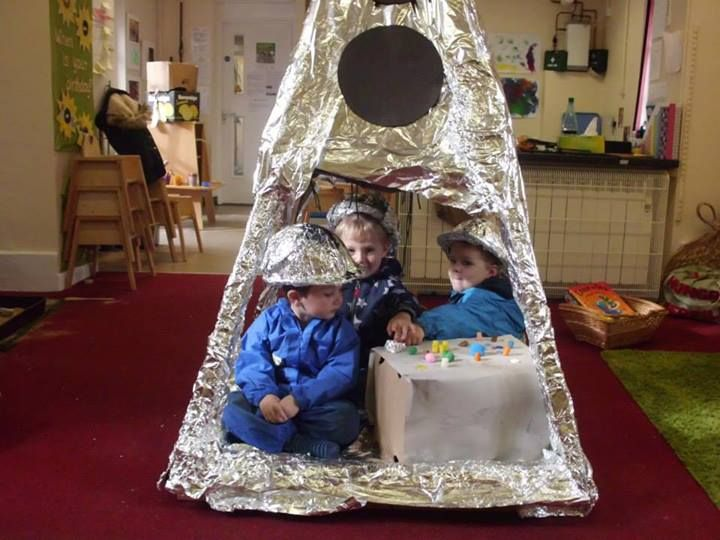 "Fab rocket play in Lostwithiel - image shared by Naturally Learning ("",)"