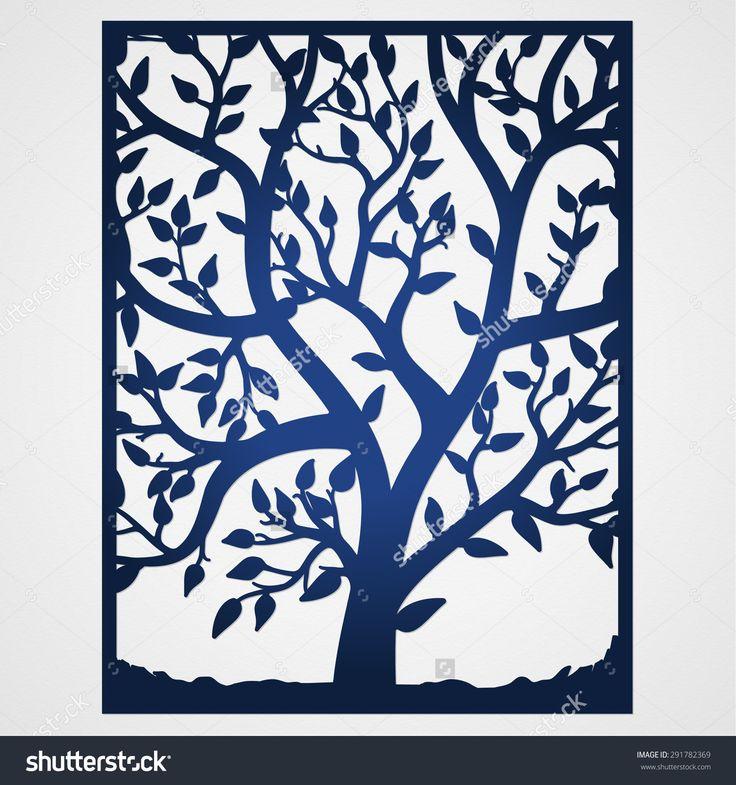 Wedding Tree Vector: 621 Best Plasma Cut Trees Images On Pinterest