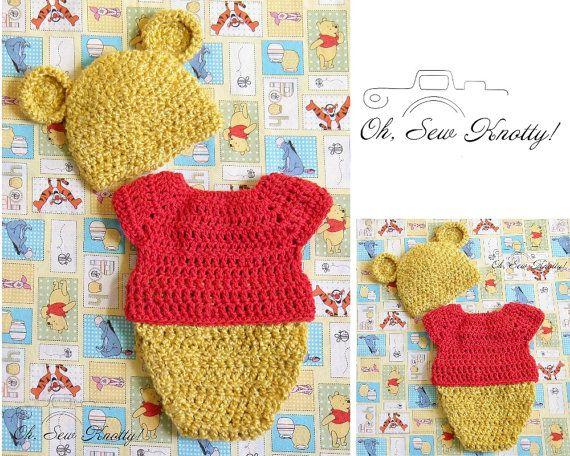 Handmade Disney's-Inspired Winnie the Pooh by OhSoVeryKnotty