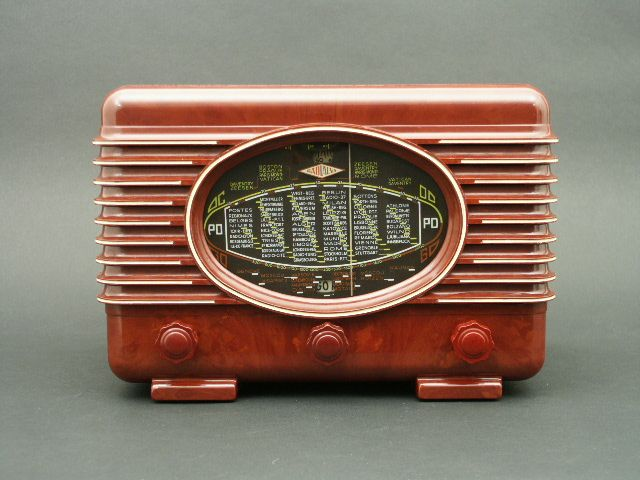 Catalin Tube Radio