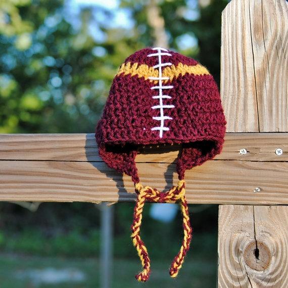 Washington Redskins Baby Football Hat
