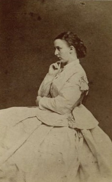 Marie , duchess of Flanders nee Pss of Hohenzollern- Sigmaringen, mother of king Albert I of Belgium.