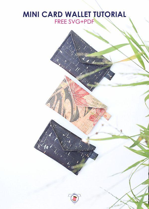 Leather Credit Card Holder Pattern Free Svg Sew Some Stuff Credit Card Wallet Pattern Credit Card Holder Pattern Card Wallet Pattern