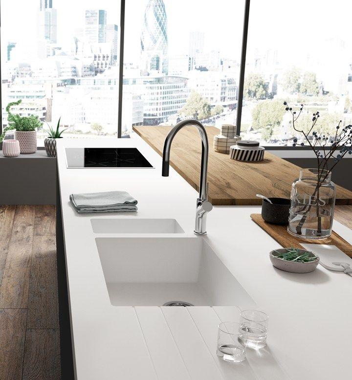 La nuova collezione di lavandini e lavabi HI-MACS®
