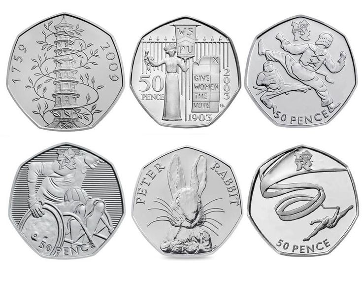 Rare 50p coins: 26 of the rarest and most valuable coins according to ChangeChecker\'s scarcity index.