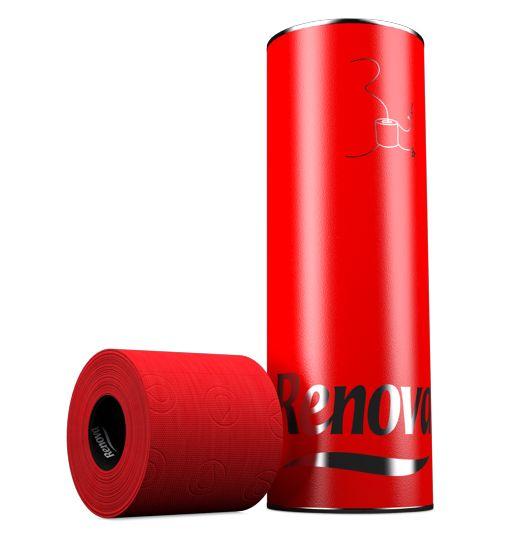 red toilet paper favorite