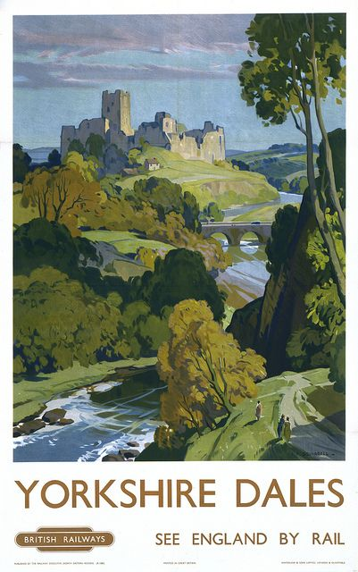 Poster, British Railways (North Eastern Region), 'Yorkshire Dales' | Flickr