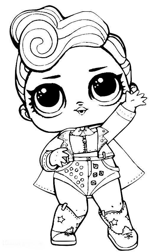 Dibujos Para Colorear Muñecas Lol Dibujos Y Mandalas