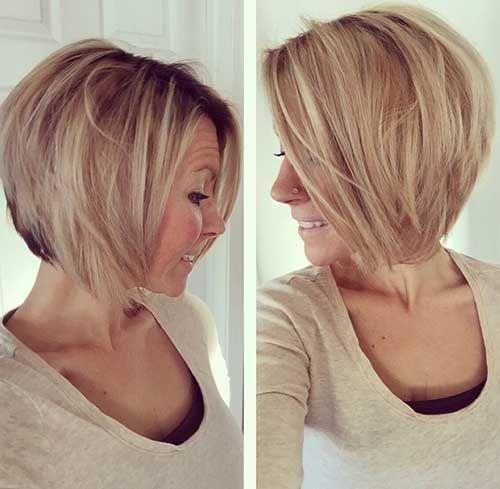 25+ Short Layered Bob Hairstyles   Bob Hairstyles 2015 - Short Hairstyles for Women