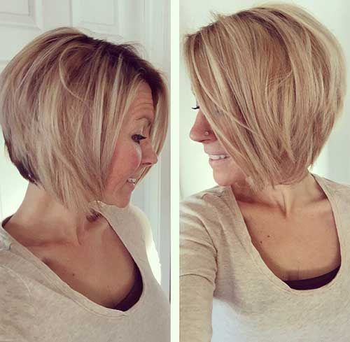 Phenomenal 1000 Ideas About Layered Bob Hairstyles On Pinterest Layered Hairstyle Inspiration Daily Dogsangcom