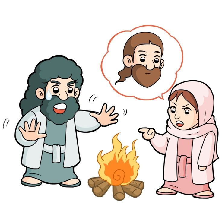 jesus and peter clipart - photo #45