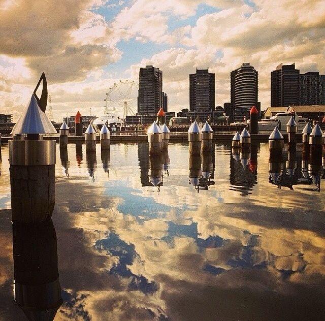 Docklands in Melbourne, Australia
