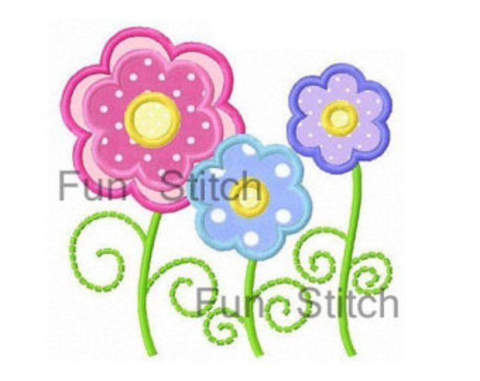 25 Best Ideas About Flower Applique Patterns On Pinterest