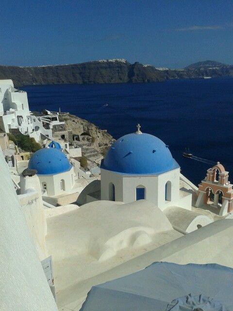 Heerlijk vakantie op Santorini