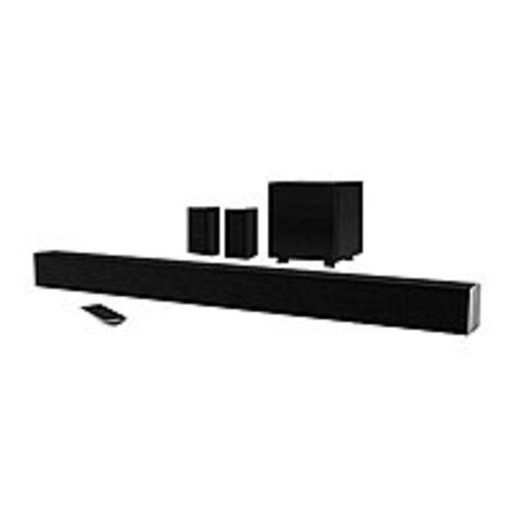 NOB VIZIO Sound Bar Speaker - Portable - Wireless Speaker(s) - Black - Surround Sound, Dolby Digital, DTS - Bluetooth - Wireless Audio Stream
