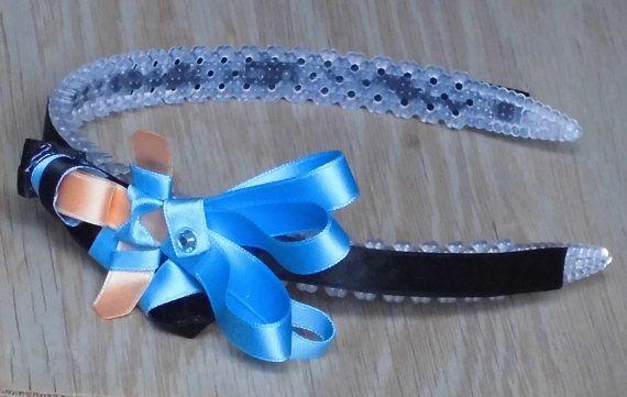 Handmade Hair Accessory Jasmine Headband Girls bows