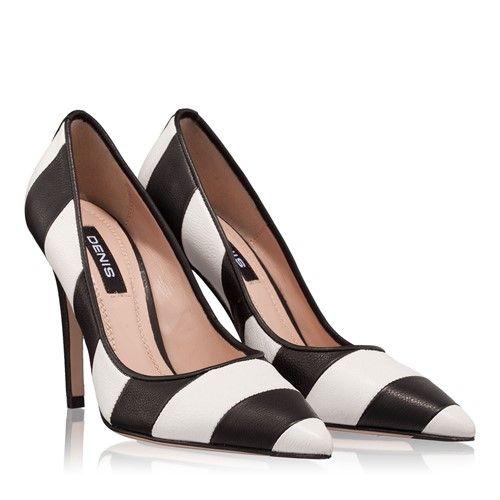 Pantofi dama eleganti in doua nuante