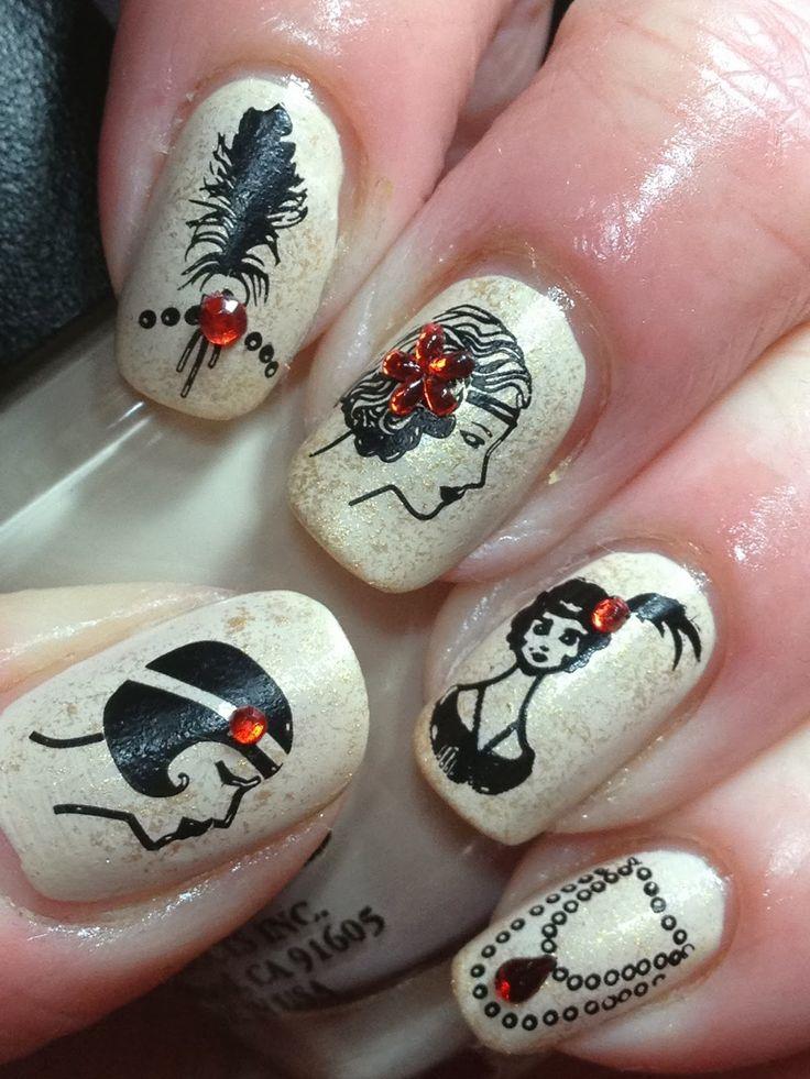 Nails Quenalbertini 1920 S Nail Art Designs Nails N 176 2 Pinterest Nail Art Designs Nail