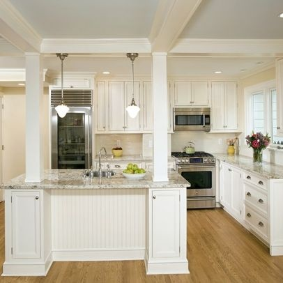 kitchen island with columns load bearing column island with columns jen falcone