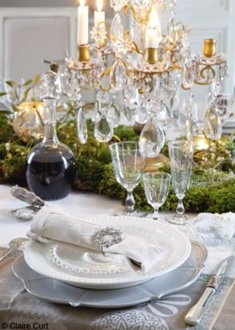 christmas in a french chateau - Sharon Santoni