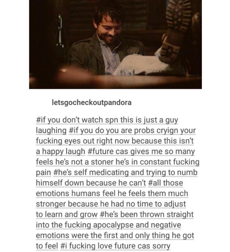 supernatural tumblr textpost castiel cas destiel post the end endverse