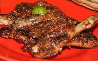 Resep Ayam Bakar Taliwang, pernah nyoba? Simak resep cara membuat ayam bakar taliwang khas Lombok, NTB