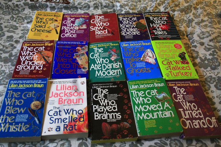 15 Lillian Jackson Braun books in softcover by TheKindLady on Etsy