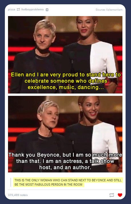I love Ellen
