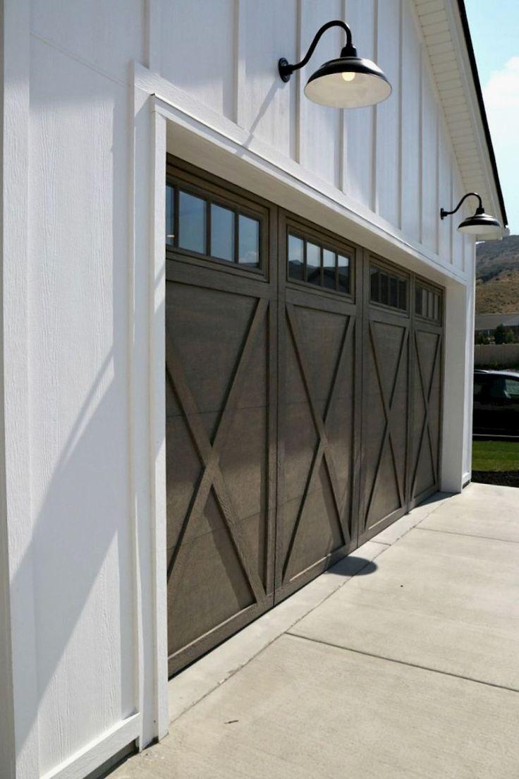 Garage Door Ideas Photos And Pics Of Garage Doors Sacramento Garage Garagedoors Garageorganizat Modern Farmhouse Exterior Farmhouse Exterior House Exterior