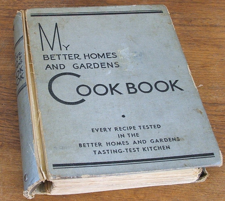 17 best images about vintage cookbooks on pinterest Better homes amp gardens recipes