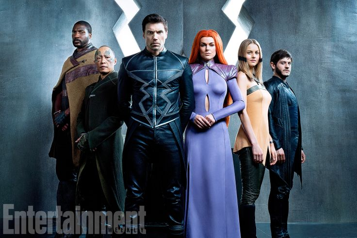 The Royal Family Unites in the First Look at Marvel's Inhumans TV Show