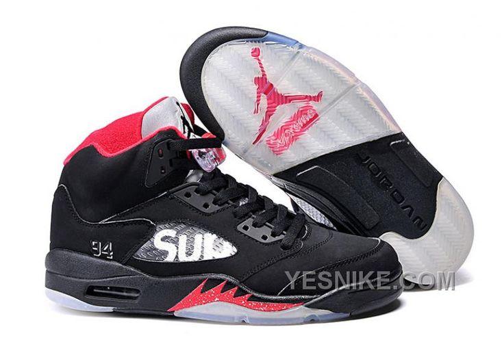 http://www.yesnike.com/big-discount-66-off-kids-jordan-shoes-supreme-x-air-jordan-5-bred-for-sale.html BIG DISCOUNT! 66% OFF! KIDS JORDAN SHOES SUPREME X AIR JORDAN 5 BRED FOR SALE Only $88.00 , Free Shipping!